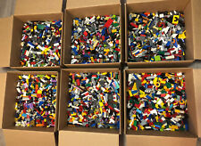 Genuine Lego 5 Lb Lots pounds Bulk Lot Mixed Bricks + 2 Minifigures & Accesories