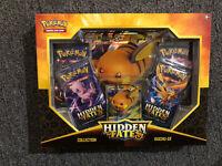 Pokemon TCG Hidden Fates Collection Raichu GX Box NEW SEALED