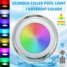 531LED RGB Underwater Swimming Pool  IP68 Remote Control Fountain  F
