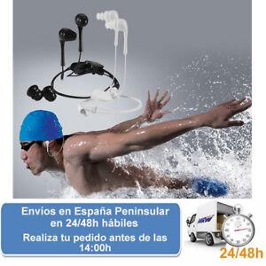 Auriculares impermeables jack 3.5 deportes acuaticos natacion (Envio express)