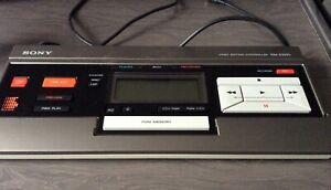 Sony Video Editing Controller RM-E100V Untested Boxed