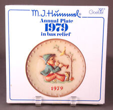 Vtg 1979 M. J. Hummel-Annual Collector Goebel Plate in bas relief-8633 Rodental