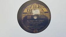 Lys Assia/ Bela Sanders - Es singen die Geigen/ Holland-Mädel 78 rpm