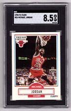 1990-91 Fleer Michael Jordan SGC Graded 8.5 NM - MT+ - Bulls (See Description)