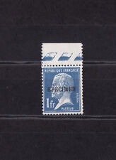 timbre France  type Pasteur 1f  bleu  surchargé  spécimen   NUM: 179-CI  1  *