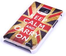 Schutzhülle f Samsung Galaxy S2 plus + i9105P Tasche Case England keep calm
