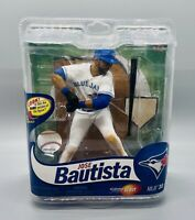 NIP Toronto Blue Jays Jose Bautista Variant White Jersey McFarlane MLB Series 30