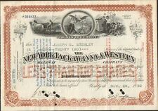 DECO => NEW-YORK, LACKAWANNA & WESTERN Railway Cy (USA) (P)