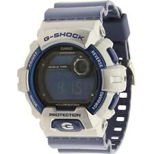 $120 Casio G-Shock G8900 Crazy Color Watch (silver / blue)