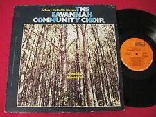 RARE BLACK GOSPEL SOUL LP  THE SAVANNAH COMMUNITY CHOIR (1981) E. LARRY MCDUFFIE