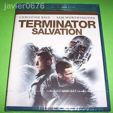 TERMINATOR SALVATION BLU-RAY NUEVO Y PRECINTADO CHRISTIAN BALE