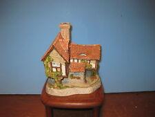 David Winter Cottages Tomfool's Cottage Mib Coa