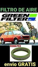 Seat Fiat 127 128 Panda Suzuki Alto filtro aire GREEN FILTER R086753
