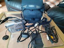 Hitachi DZ-MV730E DVD Camcorder With Battery, Charger, Audio leads bag