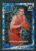 2017-18 LAURI MARKKANEN PANINI DONRUSS OPTIC DISCO RATED ROOKIE RC #159