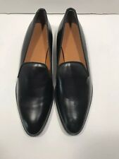 a14ac1ab995 Everlane Womens Italian Leather Loafer Black Sz 10