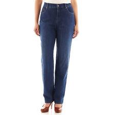2458f3f84c0 Gloria Vanderbilt Petite Amanda Stretch Jeans 8p Phoenix Medium Denim Blue