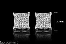 1 piece fashion jewelry silver ear stud earrings earings man's mens woman's