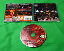 Quake III 3 Arena • Sega Dreamcast System/Console by ID Activision • Shooter CIB
