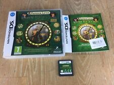 Professeur Layton and the Lost Future-Nintendo DS Game-DSI/2 DS/3 DS-PAL
