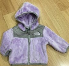 The North Face Jacket Baby Toddler Size 0-3 Months Fuzzy Purple