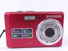 Samsung L Series L830 8.1 MP Digital Camera - Black *GOOD/TESTED*