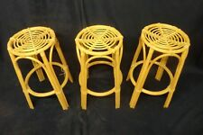 Kingsway Cane Bar Stools - Collection Only - Great Natural Finish - 3 Available!