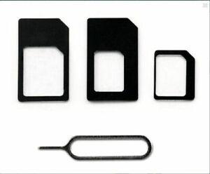 Micro Nano SIM Card Adapter Connector kit [LOCAL PICKUP Toronto] iPhone Huawei