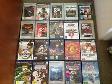Lot Of 20 PS2, PlayStation 2 Games, War, Racing, Sport, Kids