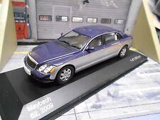 MERCEDES BENZ MAYBACH Stretch Limousine 62 2009 V12 blau silb IXO White Box 1:43