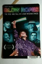 GLOW ROPES RISE AND FALL BAR MITZVAH EMCE MINI POSTER BACKER CARD (NOT A movie )