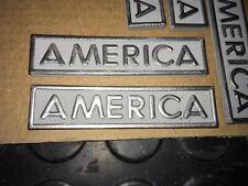 Targhetta America Alfa 75