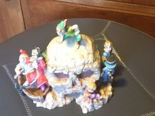 DISNEY HARMONY KINGDOM PETER PAN SKULL ROCK FIGURINE. Pristine Condition.