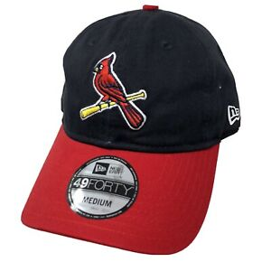New Era 49 Forty St. Louis Cardinals Fitted Baseball Hat Cap Size Medium New