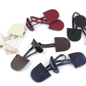 2-6 Knebelverschlüsse 15cm Mäntel 7 Farben - Verschluss Knebel Jackenverschluss