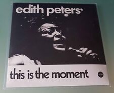 "Edith Peters This Is The Moment 45 giri 7"" Vinile ristampa"