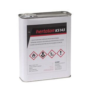 Hertalan ks143 2kg Flächenkleber EPDM Kleber für Dachfolie Dach Folie