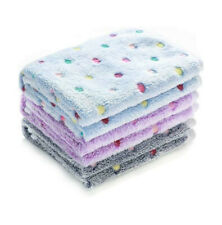 New Super Soft and Cute Pet Blanket for Dogs and Cats 3 Pcs