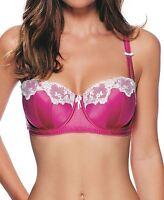 Lepel Victoria Satin Balcony Bra 43704 Pink/Ivory