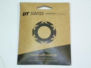 DT Swiss CenterLock to 6 Bolt Adaptor Fits Most QR and 12mm Hubs Max 160mm Disc