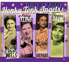 Various - Honky Tonk Angels (Kitty Wells, Patsy Cline, Skeeter Davis  - 4CD Box