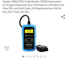 Topdon OBD2 DTCs Code Reader, TD300 Automotive Car Engine Diagnostic Scan...