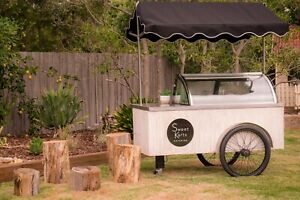 ice cream cart catering food business
