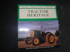LIVRE TRACTOR HERITAGE DUNCAN WHERRETT TRACTEUR TRACTOR  1994