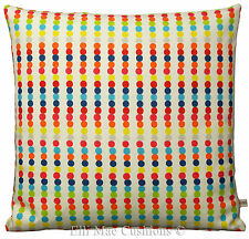 Harlequin Abacus Red Cushion Cover