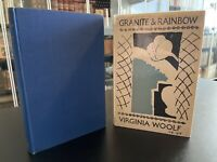 Granite and Rainbow – FIRST EDITION – 1st Print – HOGARTH – Virginia Woolf 1958