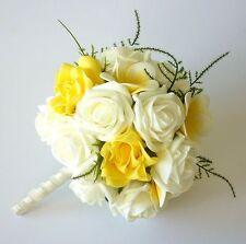 Wedding Yellow Rose Bouquet