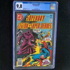 Superboy #229 💥 CGC 9.8 White 💥 1 of 9! Legion of Super-Heroes DC Comic 1977