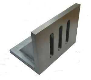 """RDGTOOLS PRECISION ANGLE PLATE 6"""" X 5"""" X 4-1/2"""" MILLING ENGINEERING"""