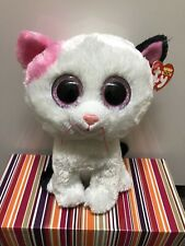 "NEW TY Beanie Boos ~ Muffin The Cat 9"" Medium Buddy. * Smoke Free Home *"